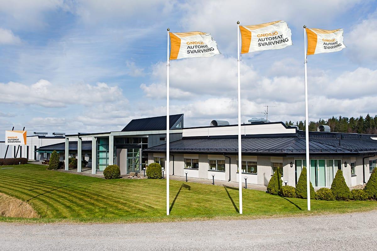 Gnosjö Automatsvarvning byggnad