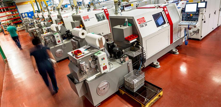 Svarvning med hydromater, CNC-svarvar och Index MS40