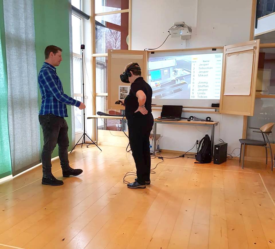 VR-simulator Gnosjö Automatsvarvning