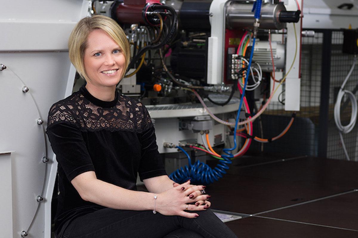 Linda Fransson, VD Gnosjö Automatsvarvning