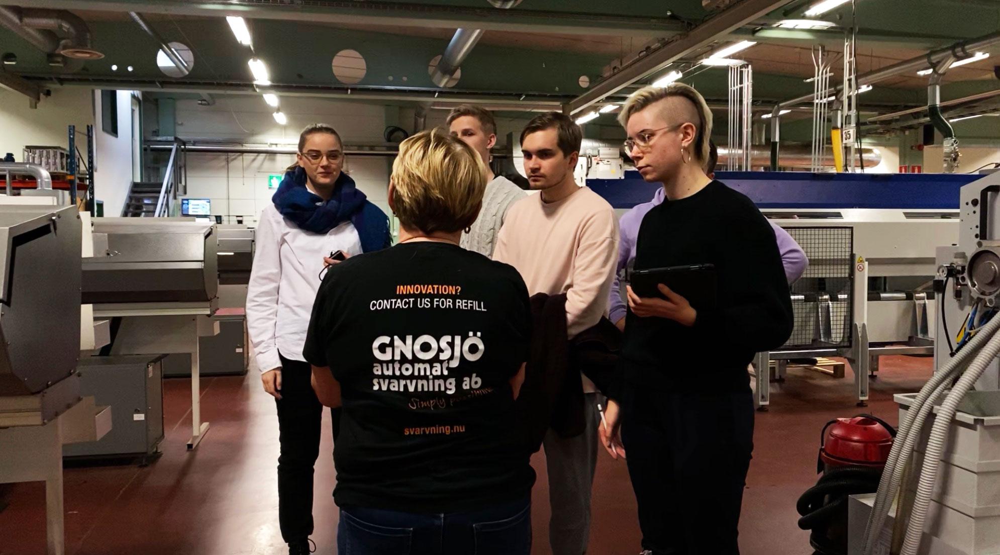 Konstfack besöker Gnosjö Automatsvarvning