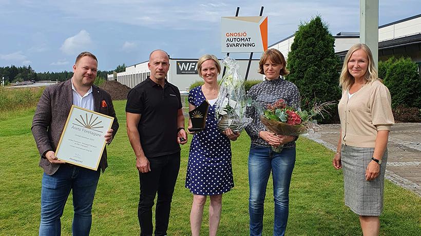 Årets företagare i Gnosjö Kommun